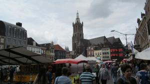Roermond market day.